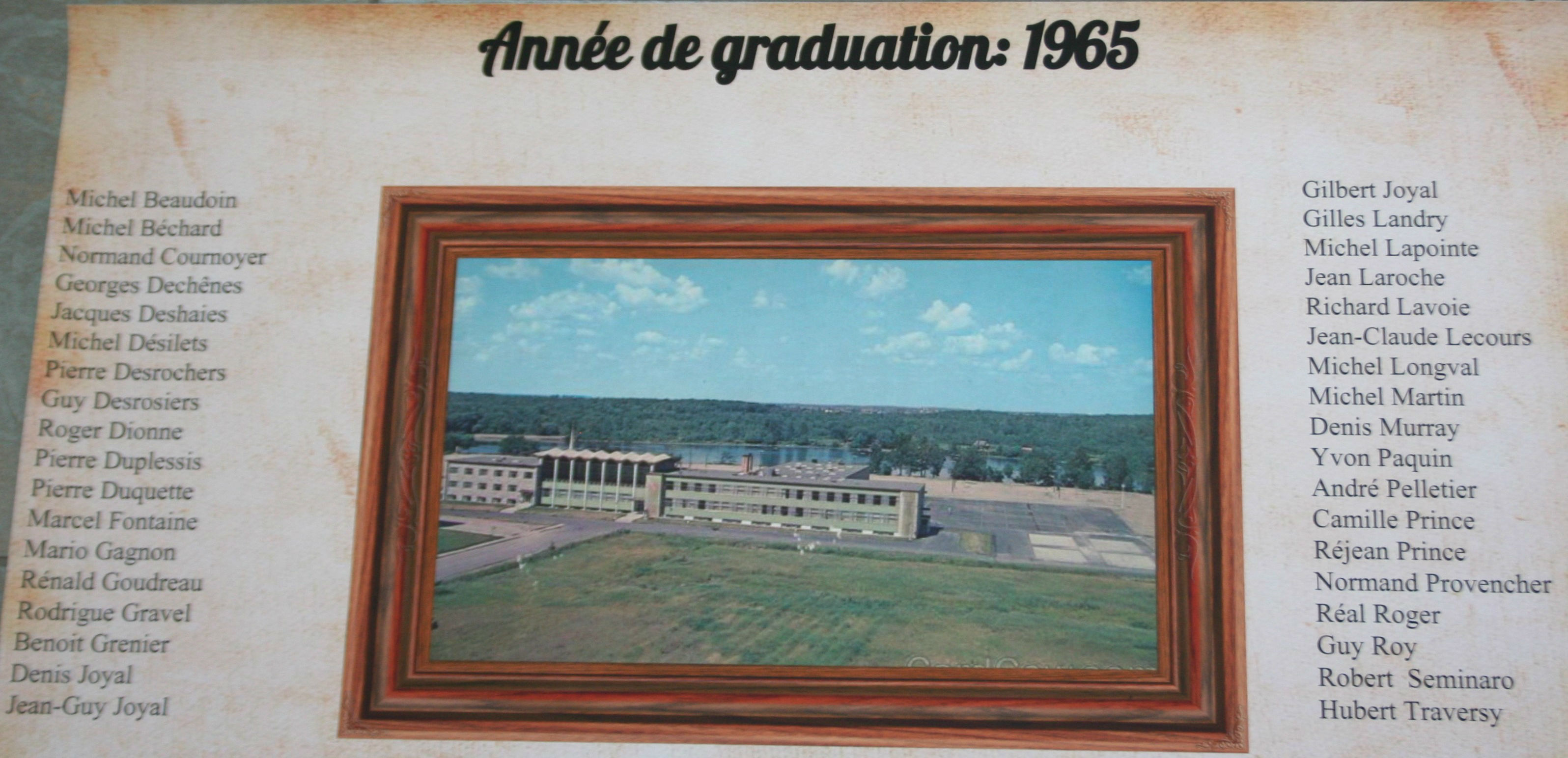 College-Saint-Bernard_Graduations-1964-65